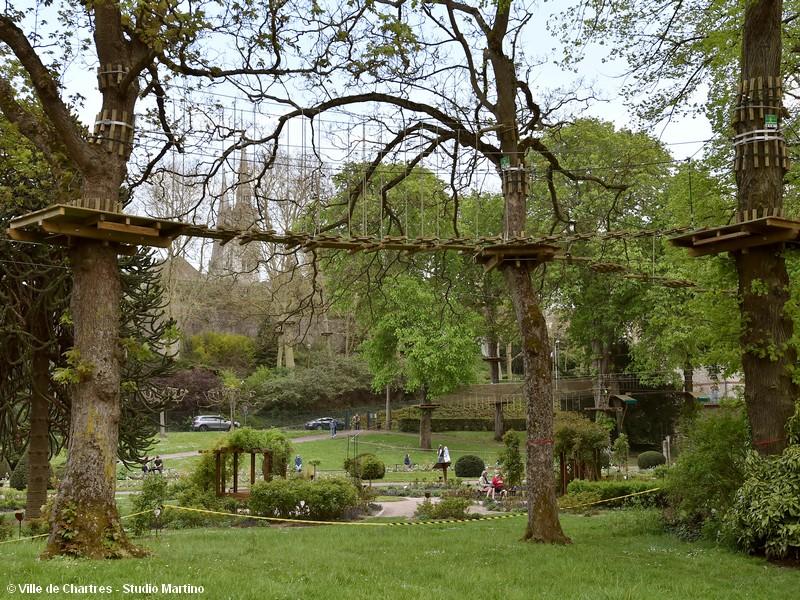 AccroCamp Chartres - Parc d'accrobranche