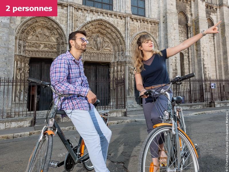 Chartres à vélo, une expérience unique (2 participants)