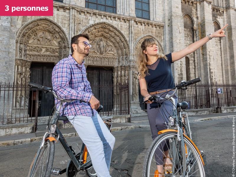 Chartres à vélo, une expérience unique (3 participants)