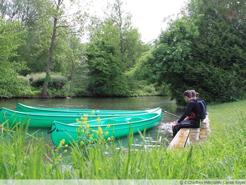 Canoë et paddle en autonomie à Chartres